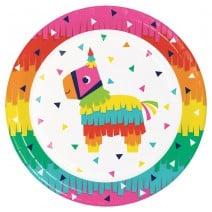 צלחות גדולות Fiesta Fun