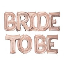 בלוני מיילר Bride to Be רוז גולד
