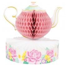 מרכז שולחן מסיבת תה