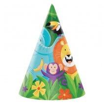 כובעי מסיבה הרפתקאה בספארי