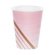כוסות מסיבת רוז גולד