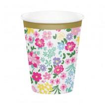 כוסות נייר מסיבת תה