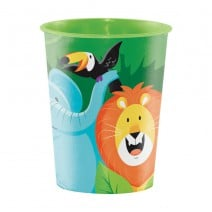 כוס פלסטיק הרפתקאה בספארי