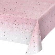מפת שולחן מסיבת רוז גולד
