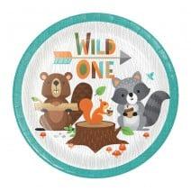 צלחות היער הקסום Wild One