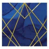 מפיות גדולות כחול זהב