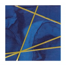 מפיות קטנות כחול זהב