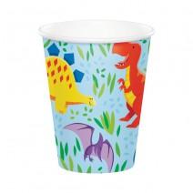 כוסות נייר מסיבת דינוזאורים
