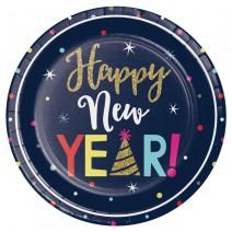 צלחות גדולות New Year