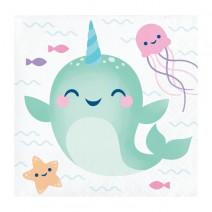 מפיות קטנות מתחת למים