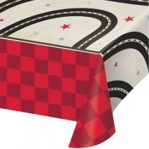 מפת שולחן מכונית מרוץ וינטאג'ית