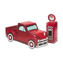 מרכז שולחן האוטו האדום