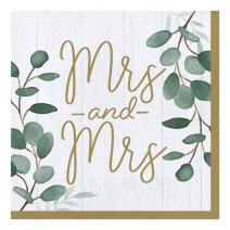 מפיות גדולות Mrs & Mrs
