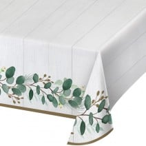 מפת שולחן ירוק אקליפטוס