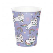 כוסות נייר חד חתול
