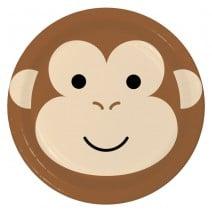 צלחות גדולות קוף