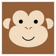מפיות גדולות קוף