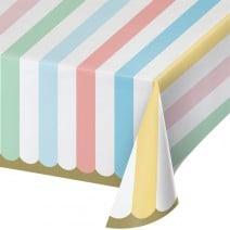 מפת שולחן מסיבת גלידה