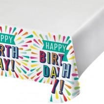 מפת שולחן Birthday Burst