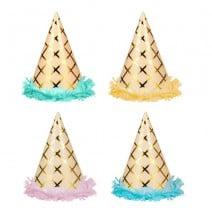 כובעי מסיבה מסיבת גלידה