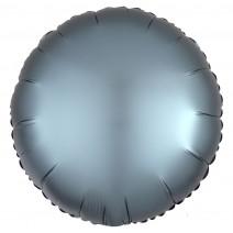 בלון כרום עגול כחול