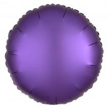 בלון כרום עגול סגול