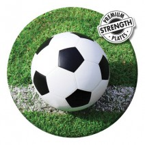 צלחות גדולות כדורגל במגרש