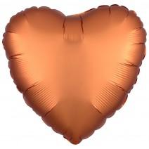 בלון כרום לב נחושת