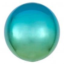 בלון בועה כחול ירוק אומברה