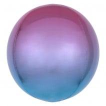 בלון בועה ורוד סגול כחול אומברה