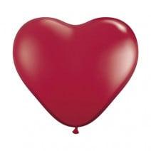 בלונים - לב אדום