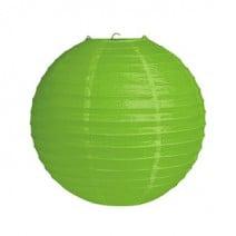 """אהיל נייר 20 ס""""מ -  ירוק"""
