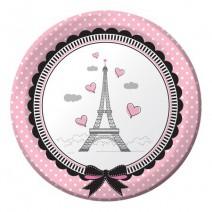 צלחות קטנות יפה בפריז