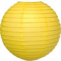"""אהיל נייר 40 ס""""מ - צהוב"""