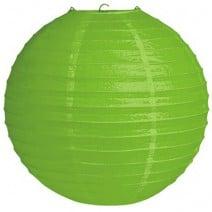 """אהיל נייר 40 ס""""מ - ירוק ליים"""