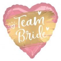 בלון מיילר לב Team Bride