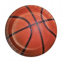 צלחות קטנות כדורסל
