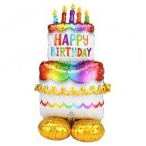 בלון איירלונז ענק עוגת יום הולדת
