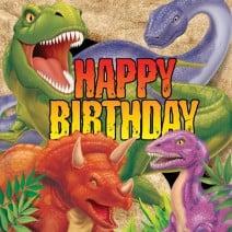 מפיות דינוזאורים גדולות - יום הולדת שמח