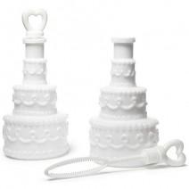בועות סבון עוגת חתונה