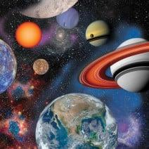 מפיות קטנות אבודים בחלל