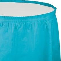 חצאית שולחן - תכלת ברמודה