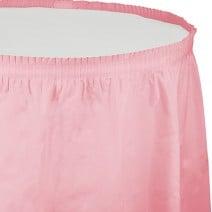חצאית שולחן - ורוד קלאסי