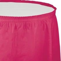 חצאית שולחן - פוקסיה