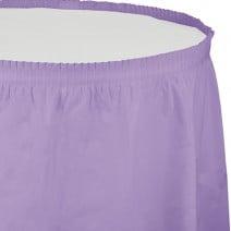 חצאית שולחן - לבנדר