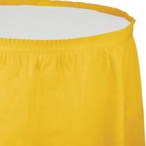 חצאית שולחן - צהוב