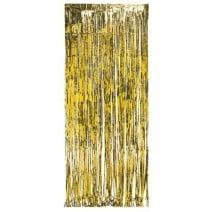 וילון פרנזים לדלת - זהב
