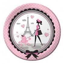 צלחות גדולות יפה בפריז