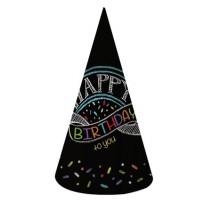 כובעי מסיבה לוח גיר
