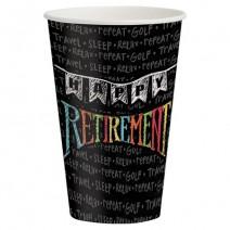 כוסות מסיבת פרישה